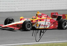 Heilo Castro Neves SIGNED Team Penske Dallara , Indianapolis 2010