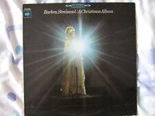 BARBRA STREISAND 33 TOURS HOLLANDE A CHRISTMAS ALBUM