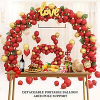 US Table Balloon Arch Stand Kit Adjustable Tabletop DIY Wedding Birthday