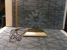 Vintage MasterCrafters #146 Clock Lighted Mid-Century Modern Starlight