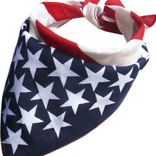 Women Unisex American Stars And Stripes USA Flag Bandana Hair Band 2016