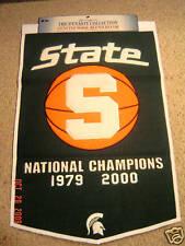 Michigan State Basketball Dynasty Banner