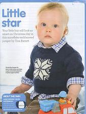 Bebé Navidad Invierno Kids Jumper Cardigan Tejer patrón 99P