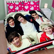 1D One Direction Sweetheart Double Duvet Cover Bed Set Midnight Memories Gift