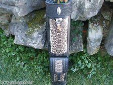 RATTLESNAKE LEATHER BACK QUIVER/ CUSTOM BUILD/ RH 3 POINT SYSTEM