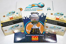 Panini COPA AMERICA ARGENTINA 2011 - 2 x DISPLAY BOX 100 Tüten packets + ALBUM