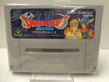 SNES Spiel - Dragon Quest I.II (1 & 2) (JAP Import) (Modul)