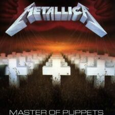 Master Of Puppets - Metallica (Cd New) 856115004491