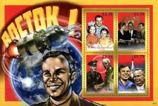 Yuri Gagarin espacio (Sergei Korolev/Tereshkova/hoja De Sellos Nehru) (2013) San Cristóbal