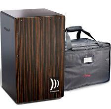 Schlagwerk CP432 Cajon 2 in 1 One Makassar + Deluxe Bag