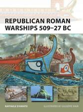 Osprey New Vanguard 225: leader Roman Warships 509–27 BC NUOVO
