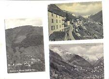 N° 3  CARTOLINE VIAGGIATE  DI ALBAREDO ( SONDRIO) ANNI ' 50
