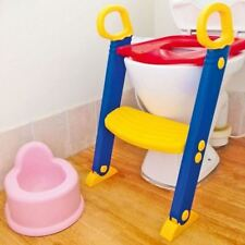 NEW CHILDRENS TOILET TRAINER BATHROOM POTTY SEAT LOO TRAINER KIDS LADDER STEPS