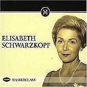 Elizabeth Schwartzkopf Masterclass 3 CD box Set opera and operetta (1950's) New
