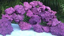 50 Lbs Premium Real Reef Live Rock Purple Coraline Marine Saltwater Aquarium