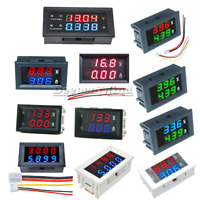 DC 0-100V/200V 7~110V 10A 3/4 Bit Digital Voltmeter Ammeter Current Volt Meter