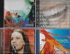 ALANIS MORISSETTE 7 CD/DVD JAGGED JUNKIE MTV UNPLUGGED UNDER RUG FEAST ON SCRAPS