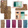 Luxury Leopard Leather Wallet Flip Stand Case Cover Skin For New iPhone 7/7 Plus