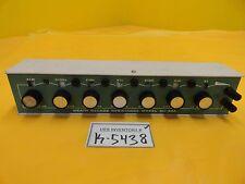Heathkit EU-30A Heath Decade Resistance Module Used Working