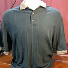 Vintage Birch Creek Clothing Co Men's Golf Polo Green Size L Made In USA