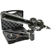 "Vidpro XM-55 13-piece 11"" Condenser Shotgun Video & Broadcast Pro Microphone Kit"