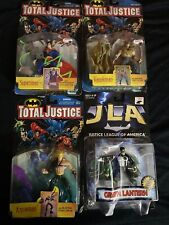 Kenner Total Justice Justice League Action Figure Lot Aqua man Hawkman Superman