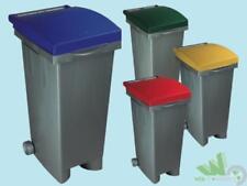 Bidone Pattumiera ICS Tata Verde 80 lt cm 38x50x80 H immondizia spazzatura