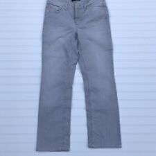 CAMBIO  NORAH STRAIGHT WOMENS GREY COLOR DENIM JEANS
