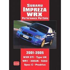 Subaru Impreza WRX Performance Portfolio 2001-2005 book paper