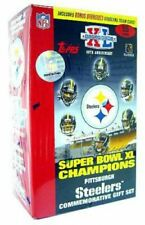 FACTORY SEALED Topps Super Bowl XL Champions Pittsburgh Steelers 55-Card Box Set