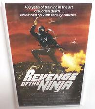 "Revenge of the Ninja Movie Poster 2"" x 3"" Refrigerator Locker MAGNET"