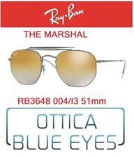 Occhiali da Sole RAY BAN SUNGLASSES RB 3648 004/I3 51mm RAYBAN THE MARSHAL gold