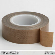 High temperature PTFE Teflon Fiberglas Adhesive Tape 0.18mm*36.5mm*10M US