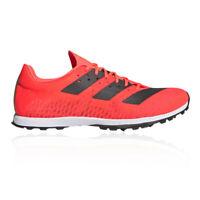 adidas Womens Adizero XCS Cross Country Running Spikes Traction Orange Sports