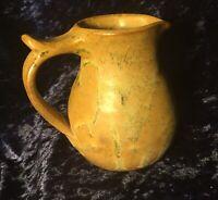Small Scottish Studio Pottery Jug w/ Marble Effect Glazing