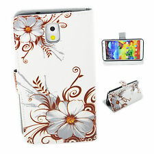 Elegant Leather Phone Wallet Case Accessory For Samsung Galaxy Note 3 III N9000
