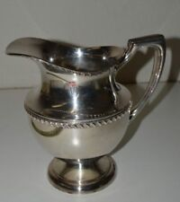 """Nice Vintage Crescent Art Deco Silver Plated Water Pitcher 2755H Rare 8.5"""""""