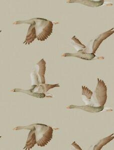 1 Roll Sanderson Elysian Geese Wallpaper  216609 Batch  AA3