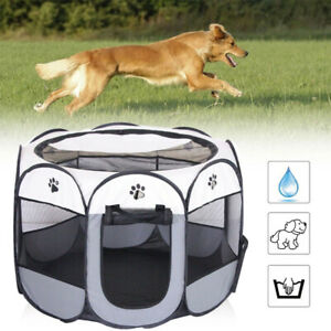 New Portable Folding Pet tent Dog House Cage Dog Cat Tent Playpen Puppy Pet Cage
