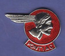 PONTIAC HEAD HAT PIN LAPEL PIN TIE TAC ENAMEL BADGE #1110
