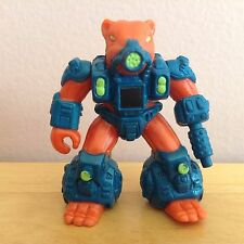 Battle Beasts War Weasel #24 w/ Non Working Rub No Weapon Hasbro A71