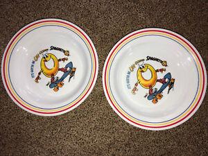 "2-8"" Vintage SpaghettiOs Corelle Bowl Campbell's Boyardee Skateboard Microwave"