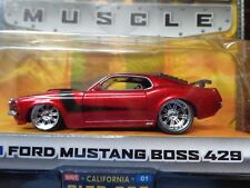 1970 FORD MUSTANG BOSS 429 JADA BIGTIME MUSCLE WAVE 1 COLLECTOR 005 NEW 1/64