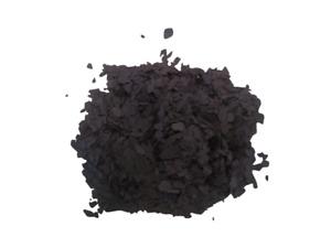 Farb Deko PVA Chips Zum Einwurf In Bodenbeschichtungen 1kg Schwarz