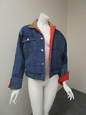 Vintage RALPH LAUREN COUNTRY Reversible Denim to Quilted Chores Trucker Jacket M