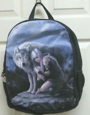 "Anne Stokes Collection ""The Protector� Backpack/Rucksack Ack Nemesis Now New"