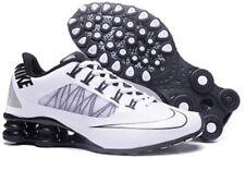 HOT NEW Women's Black/White NIKE Shox Athletic Running Shoes