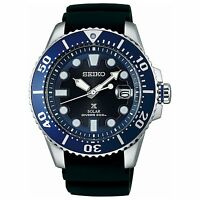 2017 New!! SEIKO PROSPEX Solar Diver's 200M SBDJ019 Men's Watch Blue from Japan