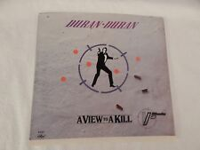 """Duran Duran """"A View To a Kill"""" PICTURE SLEEVE! MINT! ONLY NEW COPY ON eBAY!"""