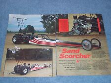 "1985 Sand Dragster Volkswagen Powered ""Sand Scorcher"" VW Supercharged"
